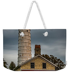 Cana Island Lighthouse By Paul Freidlund Weekender Tote Bag
