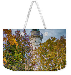 Cana Island Lighthouse II By Paul Freidlund Weekender Tote Bag