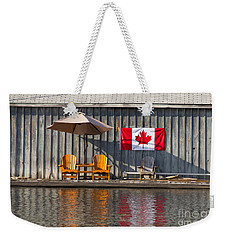 Canada Day In Muskoka Weekender Tote Bag
