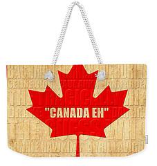 Canada Music 1 Weekender Tote Bag