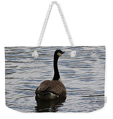 Canadian Goose On The Water Weekender Tote Bag