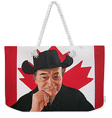 Canadian Icon Stompin' Tom Conners  Weekender Tote Bag