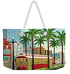 Canal Street Car Line I I Weekender Tote Bag
