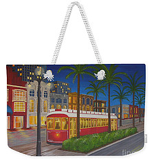 Canal Street Car Line Weekender Tote Bag