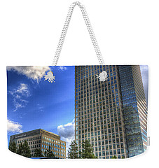 Canary Wharf Station London Weekender Tote Bag