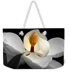 Candle In The Wind Weekender Tote Bag by Karen Wiles