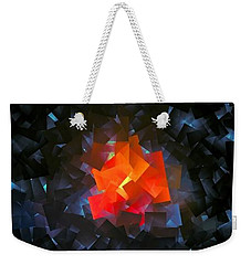 Candle Light Weekender Tote Bag