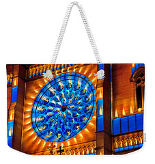 Candle Lights On Walls Weekender Tote Bag by Miroslava Jurcik