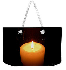Candlelight Moments Weekender Tote Bag