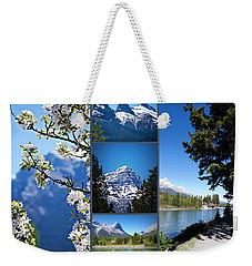 Canmore Alberta Weekender Tote Bag