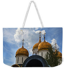 Cannon And Cathedral  - Russia Weekender Tote Bag