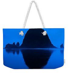 Cannon Beach Blue Weekender Tote Bag