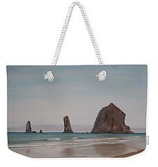 Cannon Beach Haystack Rock Weekender Tote Bag