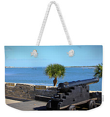 Cannon Of Castillo De San Marcos Weekender Tote Bag