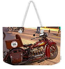 Cannonball Indian #115 Weekender Tote Bag