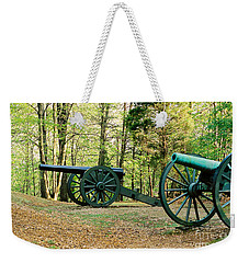 Cannons I Weekender Tote Bag by Anita Lewis