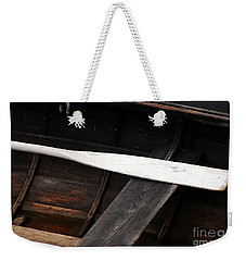 Canoe And Oar Weekender Tote Bag
