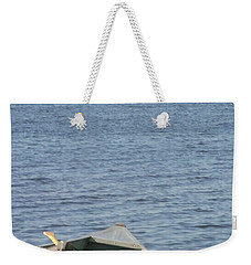 Weekender Tote Bag featuring the photograph Canoe by Tiffany Erdman