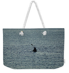 Weekender Tote Bag featuring the photograph Canoeing In The Florida Riviera by Rafael Salazar