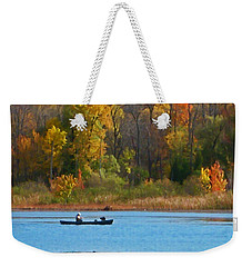 Canoer 2 Weekender Tote Bag by Aimee L Maher Photography and Art Visit ALMGallerydotcom