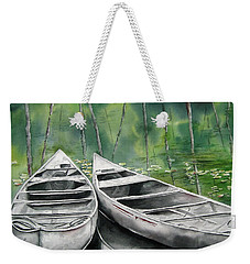 Canoes To Go Weekender Tote Bag