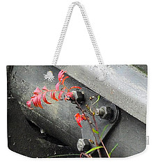 Canon Metal Weekender Tote Bag by Randi Grace Nilsberg