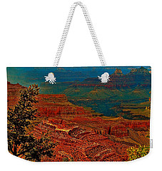 Canyon Colours Show Through Weekender Tote Bag