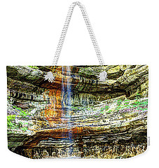 Canyon Starved Rock State Park Weekender Tote Bag