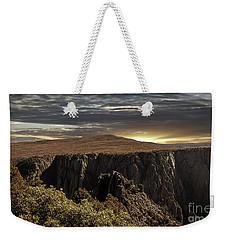Canyon Twilight Weekender Tote Bag by Janice Rae Pariza