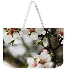 Capay Valley Almond Blossom Weekender Tote Bag