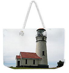 Cape Blanco Lighthouse Weekender Tote Bag by AJ  Schibig