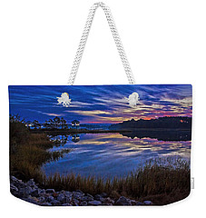 Cape Charles Sunrise Weekender Tote Bag