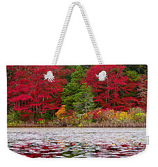 Weekender Tote Bag featuring the photograph Cape Cod Autumn by Dianne Cowen