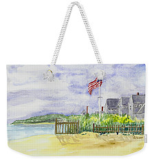 Massachusetts -cape Cod Cottages Weekender Tote Bag