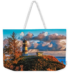 Cape Disappointment Light House Weekender Tote Bag