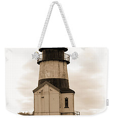Cape Disappointment Lighthouse Weekender Tote Bag by Cathy Anderson