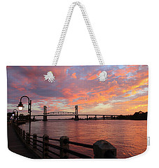 Cape Fear Bridge Weekender Tote Bag