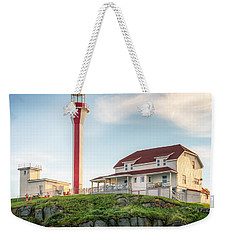 Cape Forchu Lighthouse Weekender Tote Bag