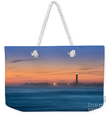 Cape May Lighthouse Sunset Weekender Tote Bag