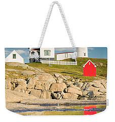 Cape Neddick Light  Reflections Weekender Tote Bag
