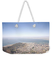 Cape Town Panorama Weekender Tote Bag by Shaun Higson