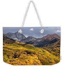 Capitol Peak In Snowmass Colorado Weekender Tote Bag