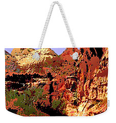 Capitol Reef National Park Vintage Poster Weekender Tote Bag