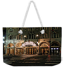 Weekender Tote Bag featuring the photograph Capitol Theatre by Ely Arsha