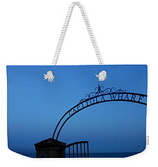 Capitola Wharf Sign Weekender Tote Bag