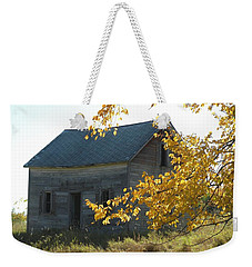 Weekender Tote Bag featuring the photograph Captain Ed's Homestead by Penny Meyers
