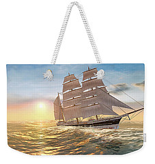 Captain Larry Paine Clippership Weekender Tote Bag