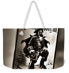Captain Morgan Black And White Weekender Tote Bag