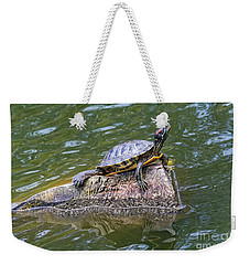 Captain Turtle Weekender Tote Bag