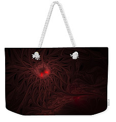 Weekender Tote Bag featuring the digital art Captive Soul by GJ Blackman